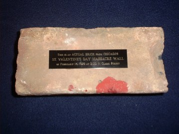 The St Valentine S Day Massacre Wall Bricks