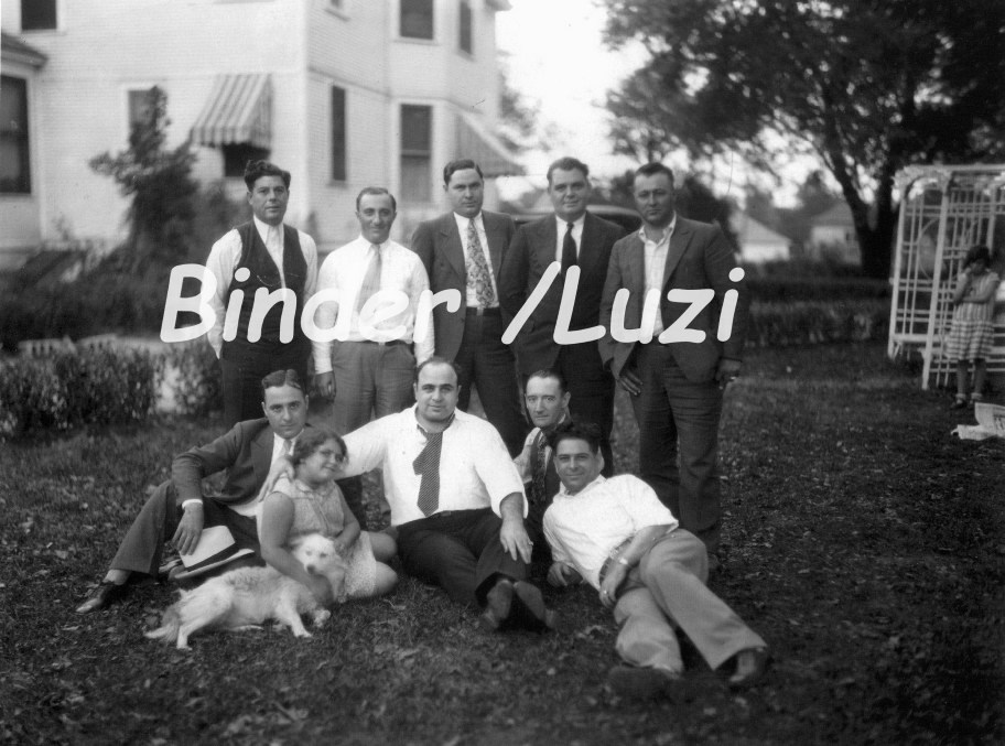 db3bec371d3 Infamous Capone and friends lawn photo taken at 2606 Chicago Rd. in Chicago  Heights. The house no longer stands today.